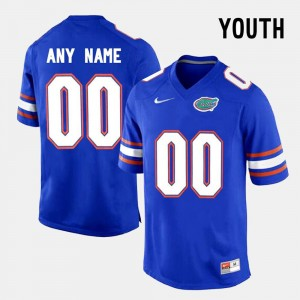 Youth Florida State Seminoles Limited Football #00 college Customized Jersey - Blue