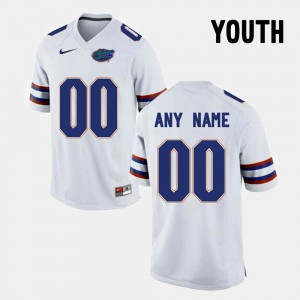 Kids #00 Florida ST Limited Football college Customized Jersey - White