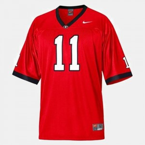Youth(Kids) Georgia Football #11 Aaron Murray college Jersey - Red