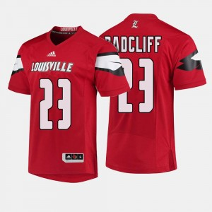 Mens #23 Cardinals Football Brandon Radcliff college Jersey - Red