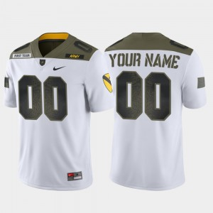 Mens West Point 1st Cavalry Division Limited Edition #00 college Customized Jersey - White