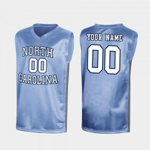 Men's #00 college Customized Jersey - Royal March Madness Special Basketball North Carolina