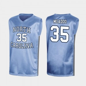 Men's UNC Tar Heels #35 March Madness Special Basketball Ryan McAdoo college Jersey - Royal