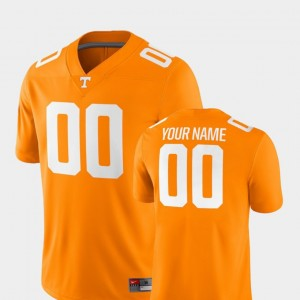 Mens Tennessee Football #00 2018 Game college Customized Jerseys - Tennessee Orange