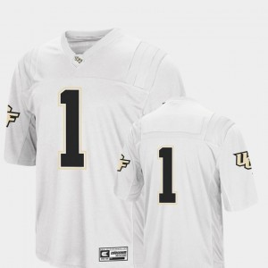 Men's Colosseum #1 UCF Football college Jersey - White