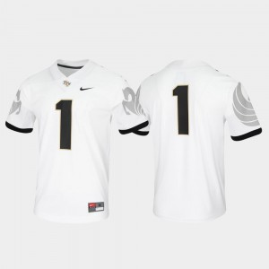 Men's Knights #1 Game Untouchable college Jersey - White