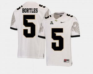 Men's UCF Knights American Athletic Conference #5 Football Blake Bortles college Jersey - White