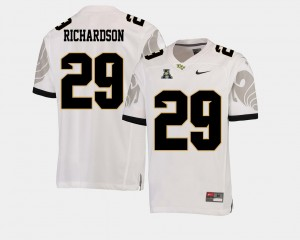 Men Football #29 American Athletic Conference UCF Cordarrian Richardson college Jersey - White