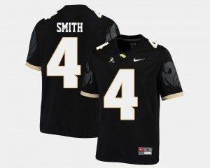 Men's Football UCF Knights #4 American Athletic Conference Tre'Quan Smith college Jersey - Black