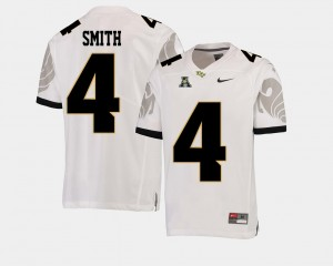 Men Football #4 Knights American Athletic Conference Tre'Quan Smith college Jersey - White