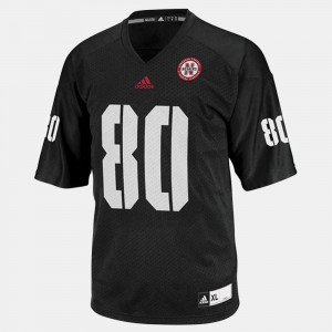 Youth(Kids) #80 Cornhuskers Football Kenny Bell college Jersey - Black
