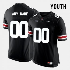 Youth Limited Football Ohio State #00 college Customized Jersey - Black