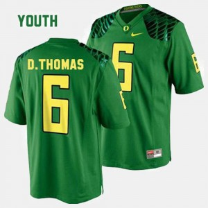 Youth UO Football #6 De'Anthony Thomas college Jersey - Green