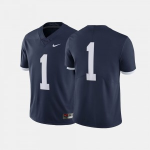 Men's Throwback #1 Penn State Nittany Lions college Jersey - Navy