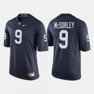 Men Penn State Nittany Lions #9 Football Trace McSorley college Jersey - Navy