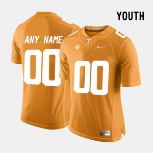 For Kids Limited Football Tennessee #00 college Customized Jersey - Orange