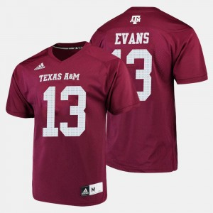 Men #13 Football A&M Mike Evans college Jersey - Maroon
