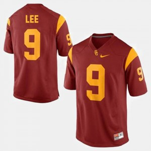 Men Football USC Trojans #9 Marqise Lee college Jersey - Red