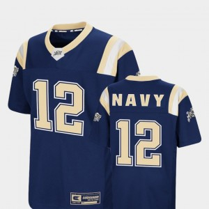 Youth Colosseum Foos-Ball Football #12 Navy college Jersey - Navy