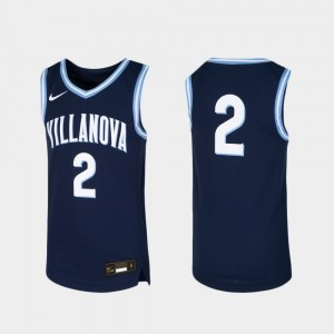 Youth Basketball Wildcats Replica #2 college Jersey - Navy